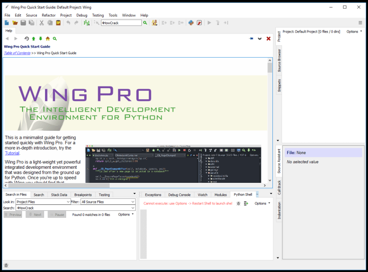 Wing IDE Pro License ID