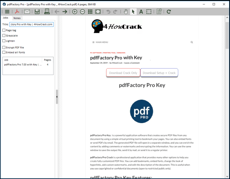 pdfFactory Pro License Code