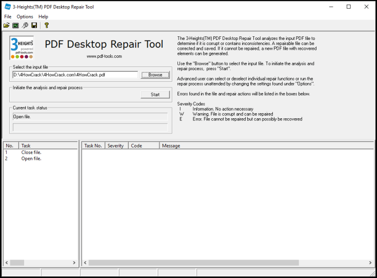 3-Heights PDF Desktop Repair Tool License Key Download