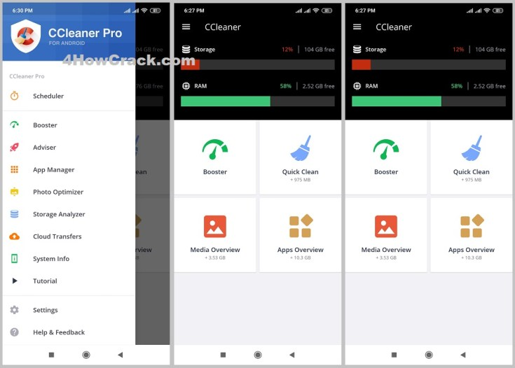 CCleaner Pro APK Cracked for Android Download