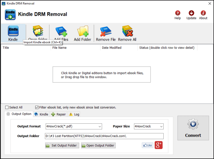 Kindle DRM Removal Serial Number (SN) Download