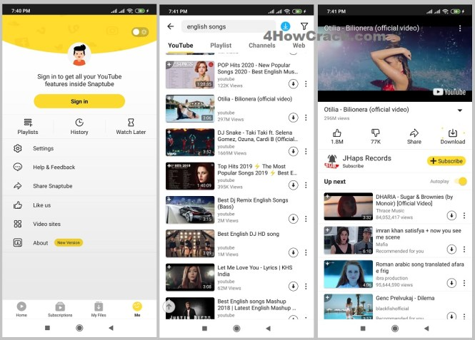 SnapTube – YouTube Downloader HD Video for Android APK