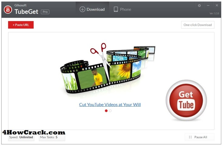 Gihosoft TubeGet Pro Activation Key Free Download