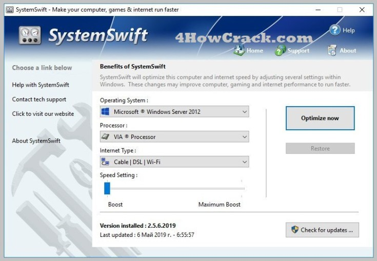 PGWare SystemSwift Serial Key Free Download