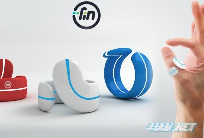 Fin Bluetooth - кольцо, превращающее ладонь в сенсорный контроллер