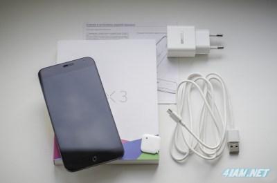 Упаковка Meizu MX3