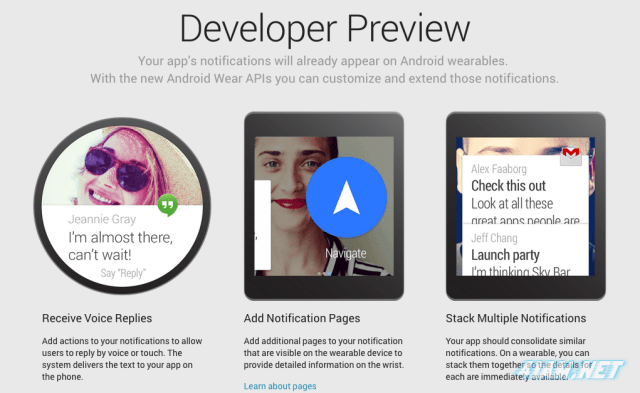 Android-Wear-Developer-Preview