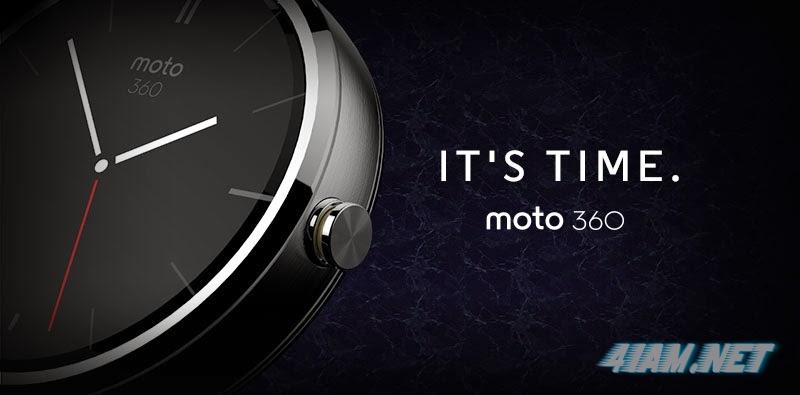 """Motorola представила """"умные"""" часы Moto 360"""
