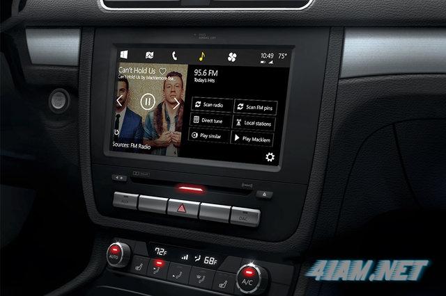 Microsoft Windows in the car концепт