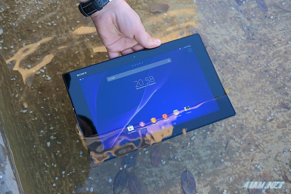 """Обзор Sony Xperia Tablet Z2 : легче """"воздуха"""""""