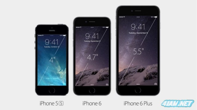 Apple iPhone 5s vs Apple iPhone 6 vs Apple iPhone 6 Plus