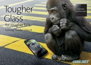 Представлено новое поколение Corning Gorilla Glass 4