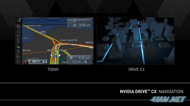 Nvidia Drive CX Navigation