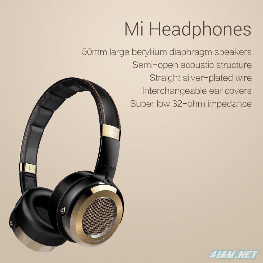 Xiaomi Mi Headphones - HI-FI наушники премиум-класса