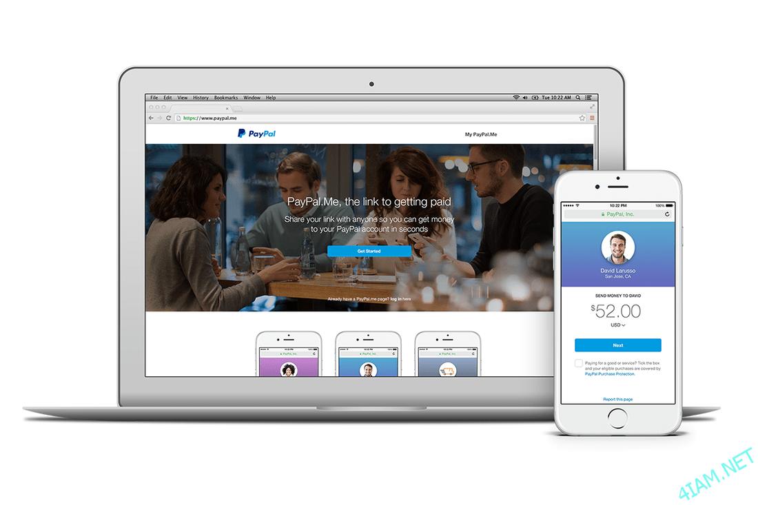 PayPal представил легкий способ запроса и получения денег используя персональный URL