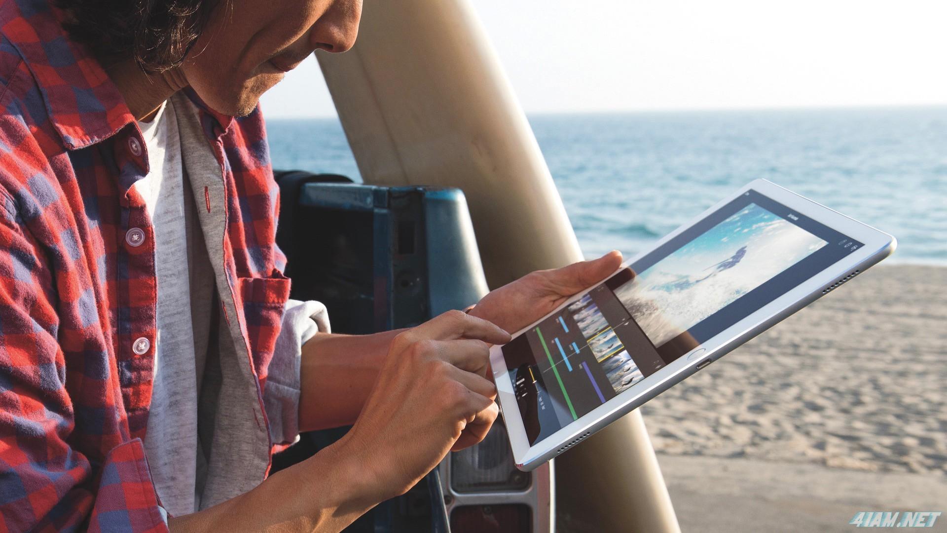 """Apple представила iPad Pro на 12,9"""" и сопутствующие аксессуары"""