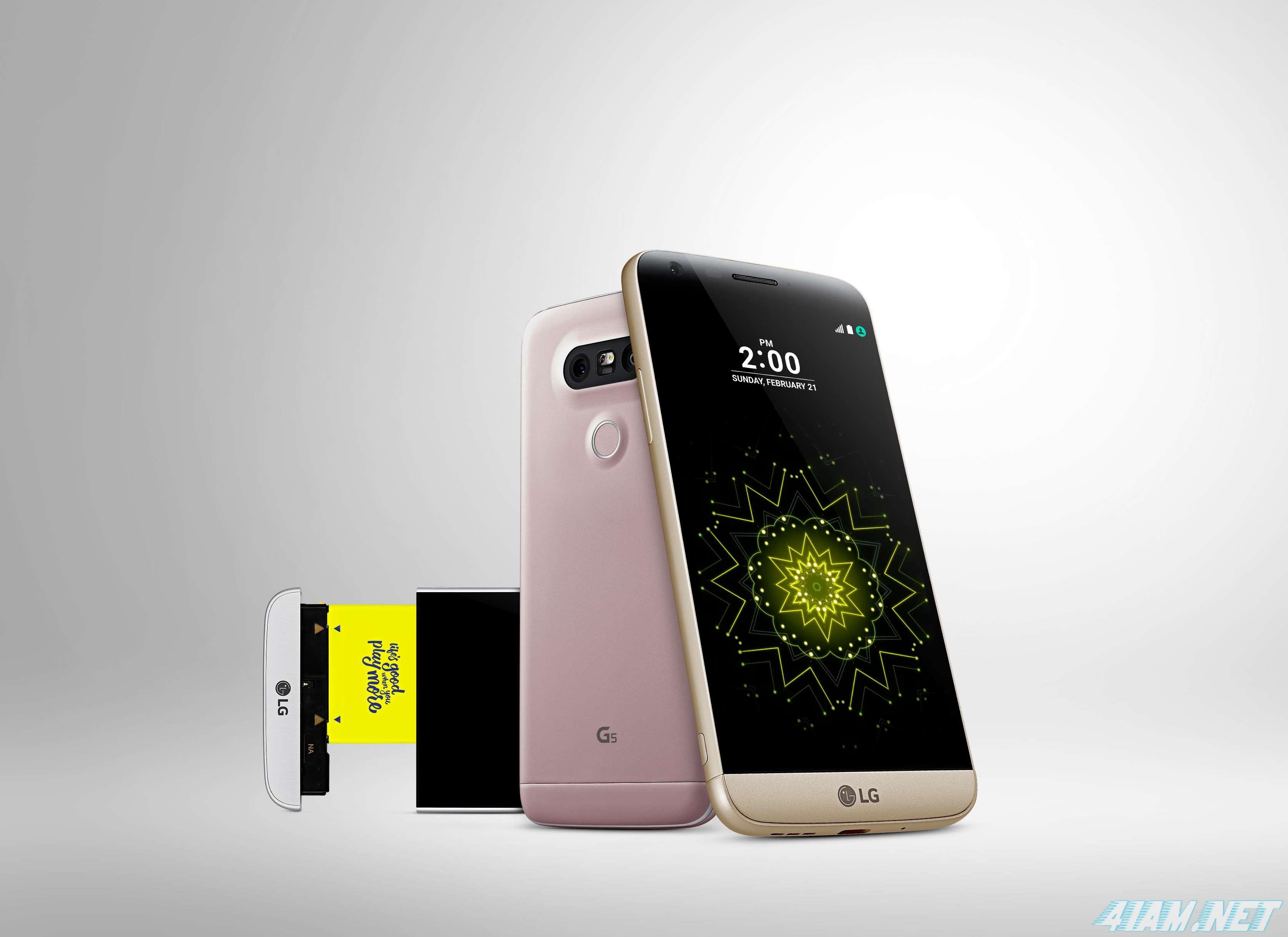 LG G5 официально представлен: дата релиза, спецификации и цена