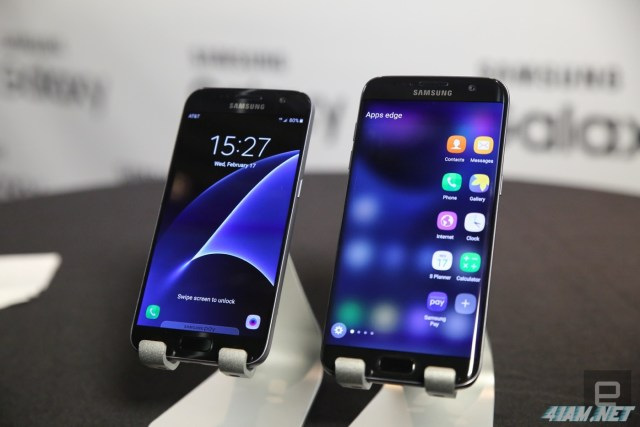 Samsung Galaxy S7 and S7 Edge Apps Live