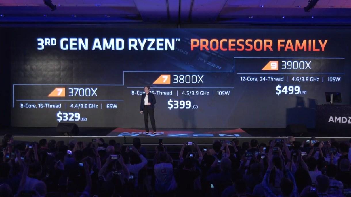 Nuevos procesadores Zen 2