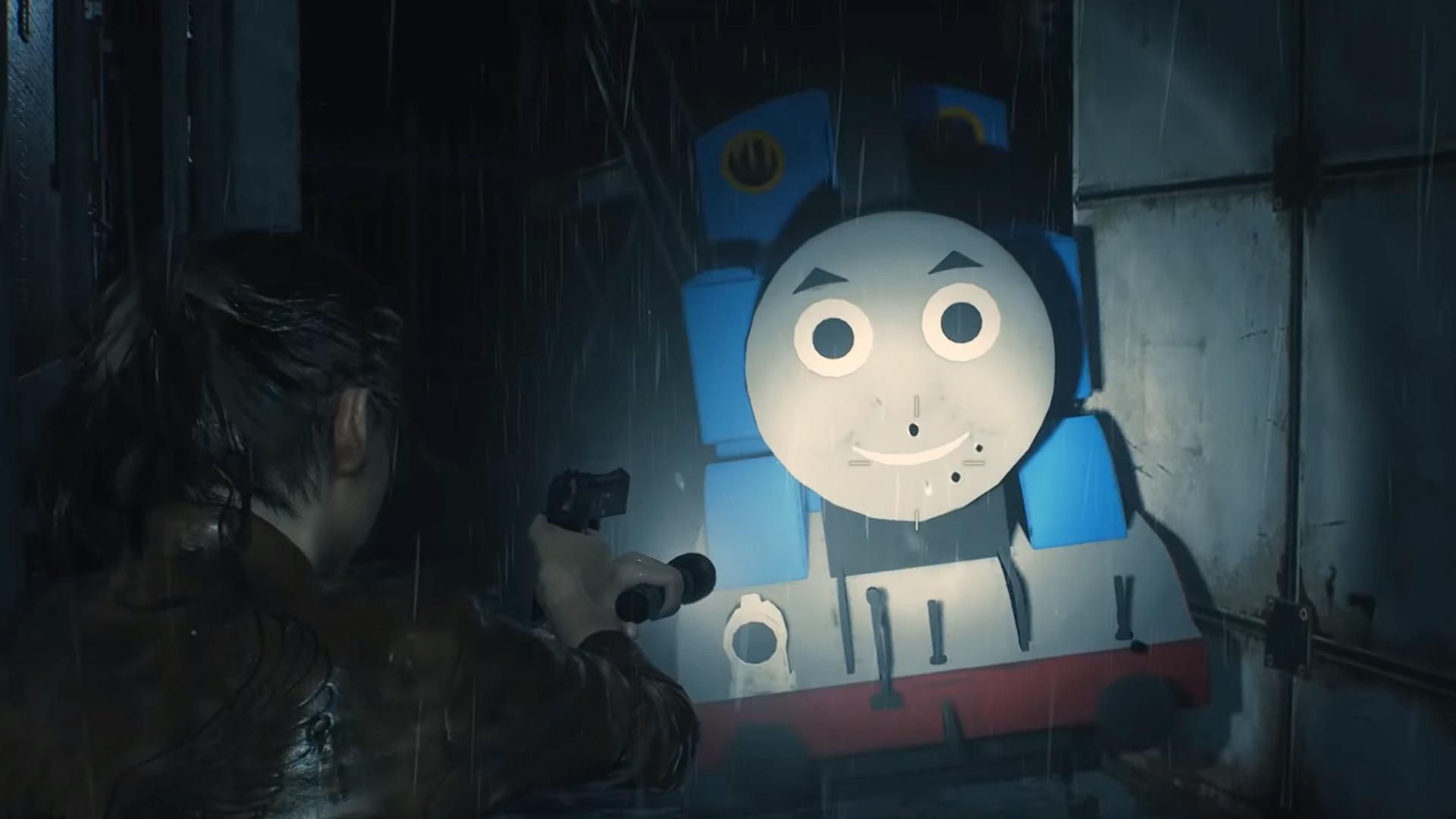 Mod Fur Resident Evil 2 Macht Thomas Die Lokomotive Zum Endgegner