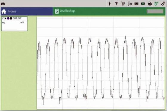 Проверка датчика кислорода осциллографом