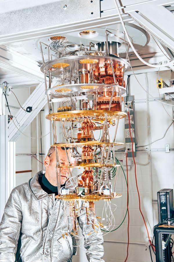Хартмут Невен и квантовый компьютер