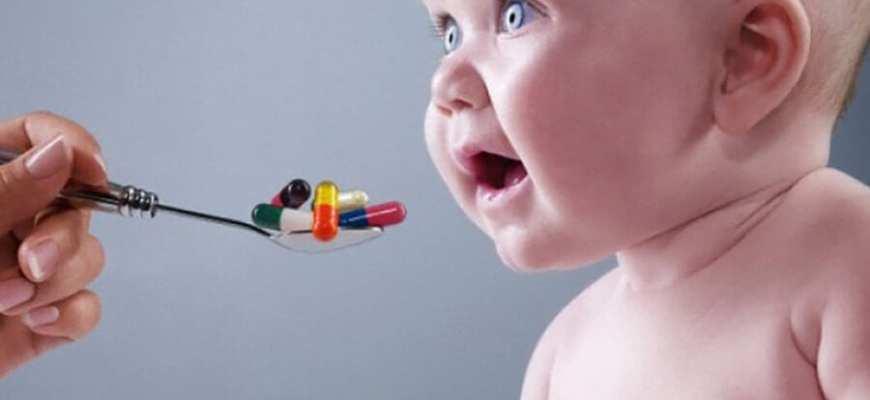 антибиотики детям до 2 лет