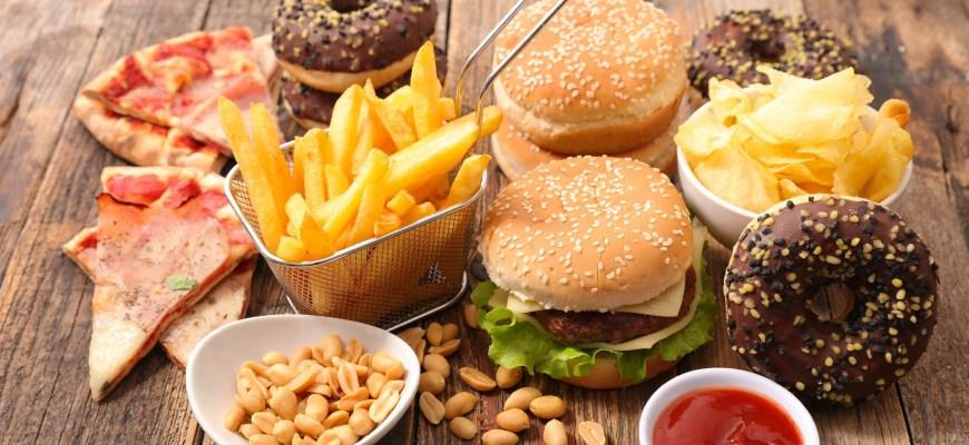 обработанные продукты питания