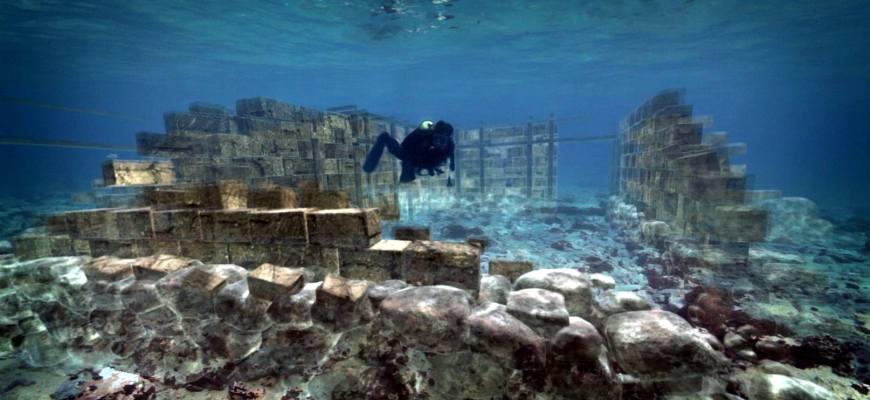 город на дне моря