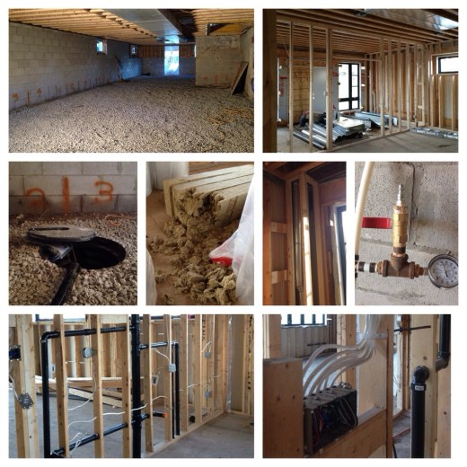 Getting there....progress in various areas of construction.