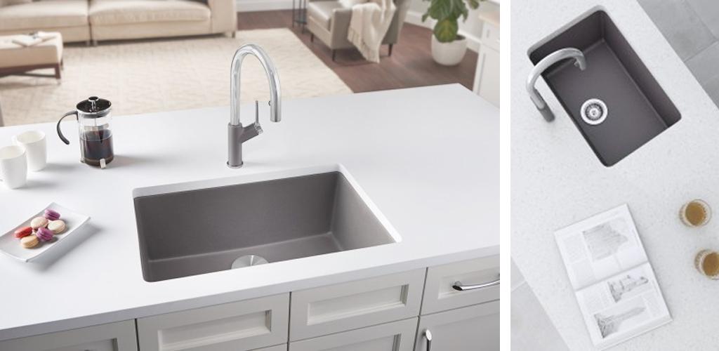 BLANCO PRECIS sink & URBENA faucet