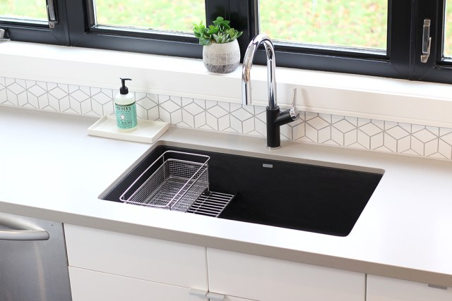 The Dreamhouse Project - Dream Kitchen Reveal featuring BLANCO Precis undermount sink & Urbena faucet