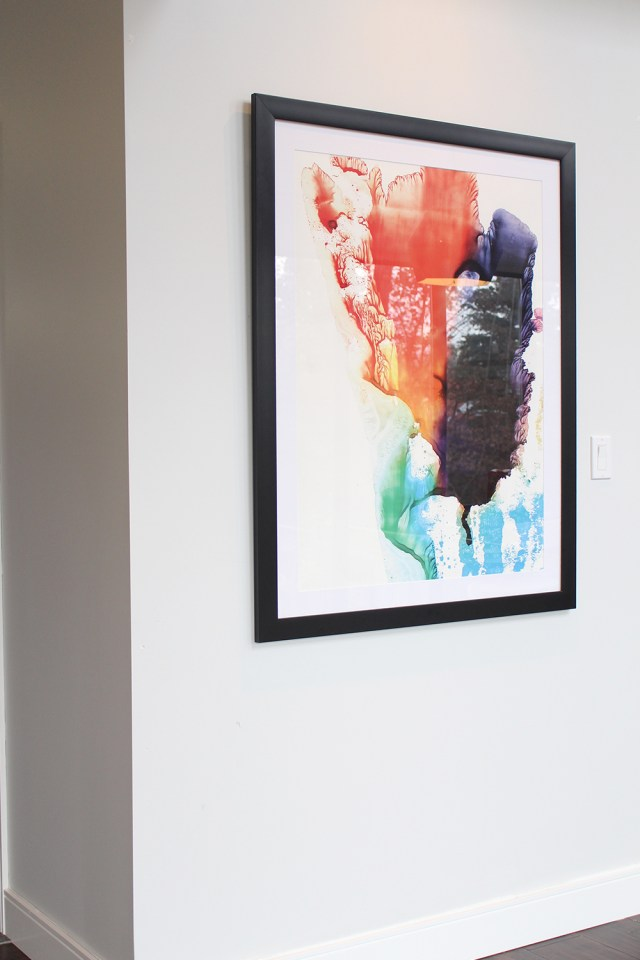 The Dreamhouse Project - Dream Kitchen Reveal featuring fine art print