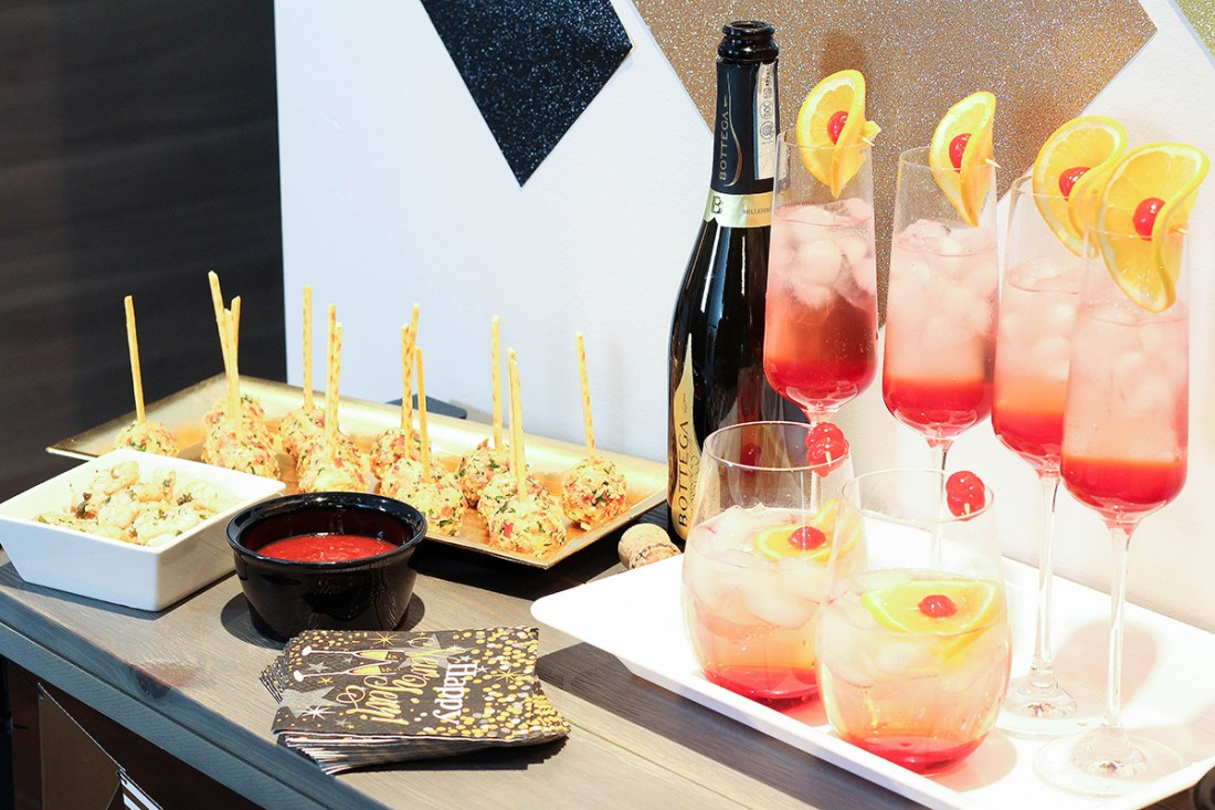 NYE enjoy your favourite cocktail