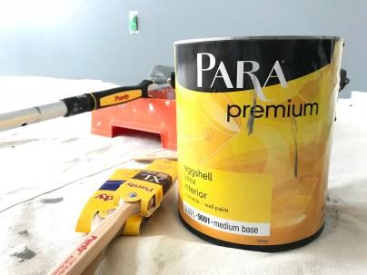 PARA Premium paint offers fantastic coverage