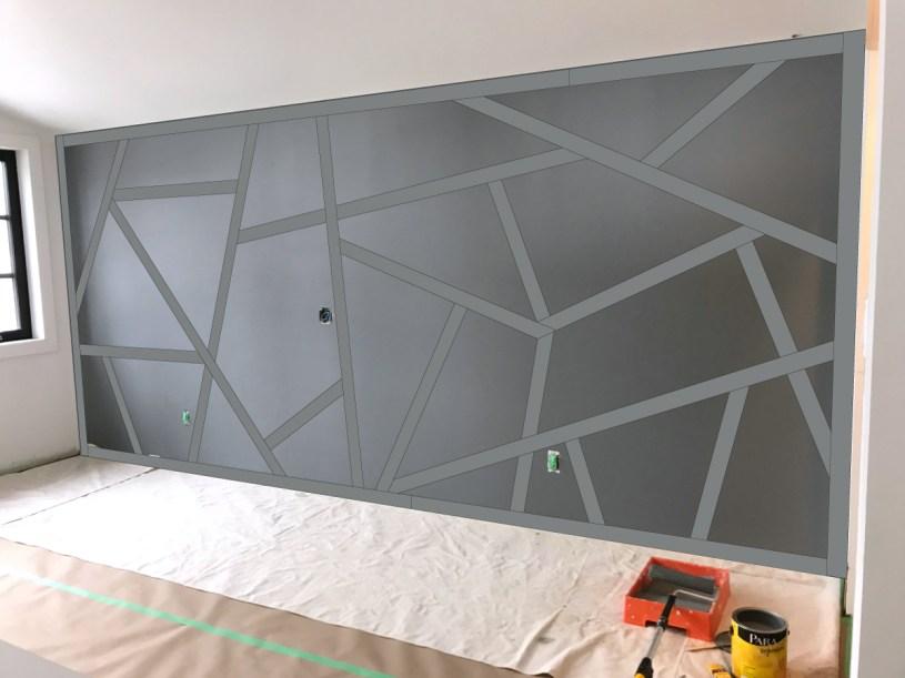 Geometric feature wall conceptualization