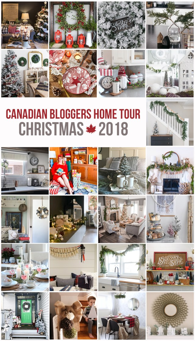 2018 Christmas Canadian Bloggers Fall Home Tour