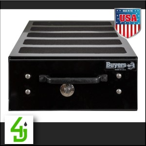 Black Smooth Aluminum Slide Out Tool Box