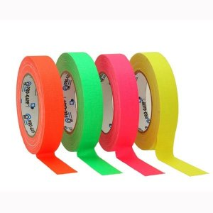 Le Mark gaffer tape fluorescent