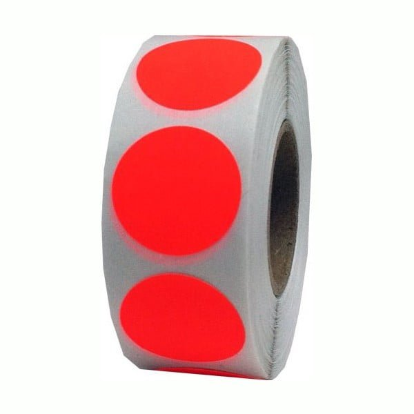 Le Mark Gaffer tape fluorescent dots