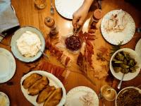 Thanksgiving Dinner Photography Download 4K Free Wallpapers