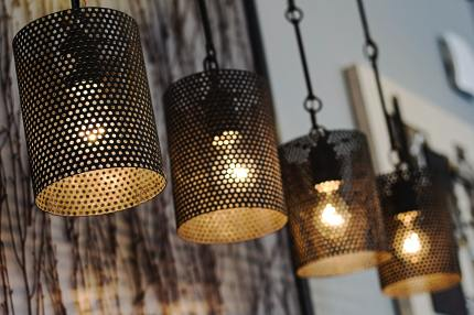turned-on-pendant-lamps