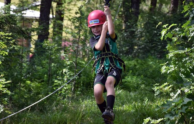 Klimpark Feldberg: klimmen en ziplinen door het Zwarte Woud