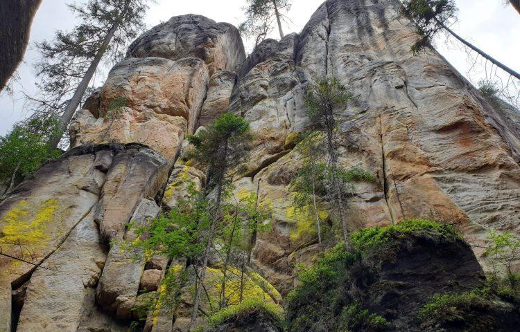 De spectaculaire rotsformaties van Adršpach
