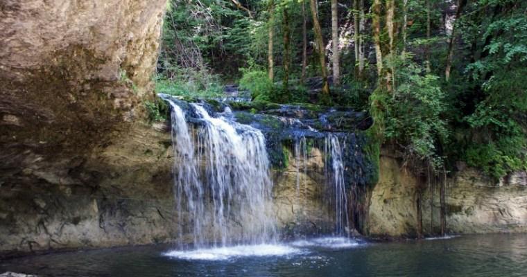 De watervallen van Hérisson, een speelparadijs voor kinderen