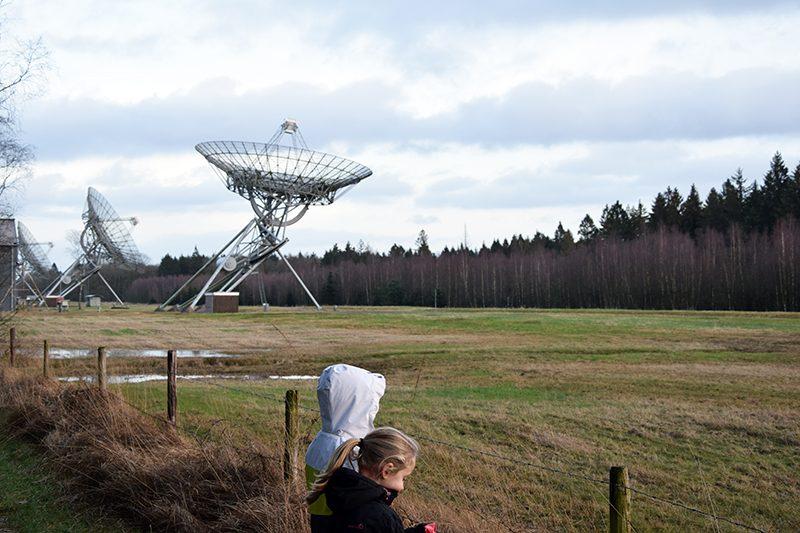 Tussen de planeten op het Melkwegpad in Hooghalen