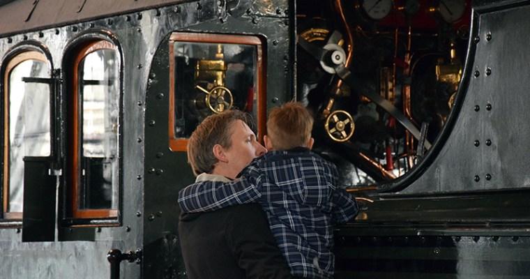 Een dagje tussen de treinen en attracties van Het Spoorwegmuseum