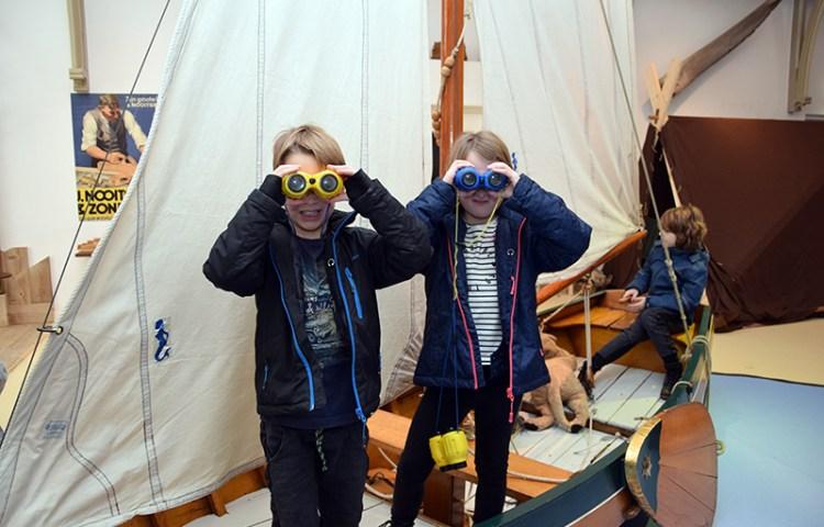 Met kinderen naar het Fries Scheepvaart Museum