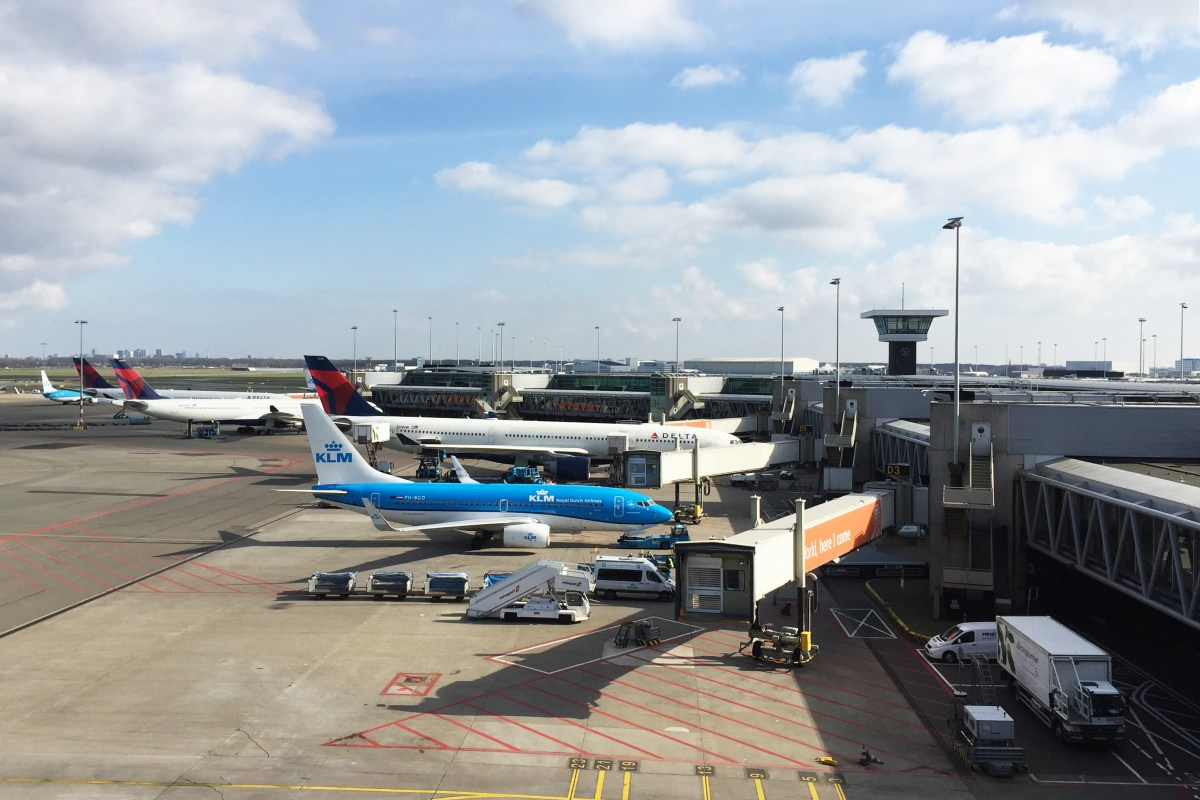 Schiphol zonder vliegticket