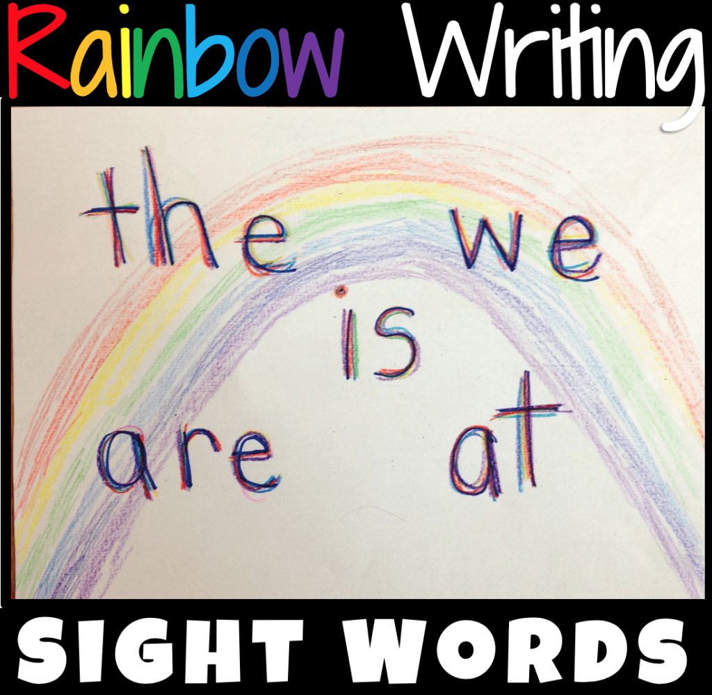 What Is Rainbow Writing
